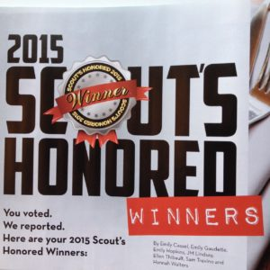 Acupuncture Together - 2015 Scout's Honored Award Winner
